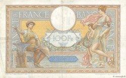 100 Francs LUC OLIVIER MERSON type modifié FRANCE  1937 F.25.06 pr.TTB