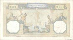 1000 Francs CÉRÈS ET MERCURE FRANCE  1933 F.37.08 TTB