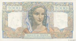 1000 Francs MINERVE ET HERCULE FRANCE  1945 F.41.08 pr.SPL
