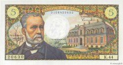 5 Francs PASTEUR FRANCE  1966 F.61.04 pr.SUP