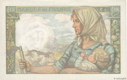 10 Francs MINEUR FRANCE  1947 F.08.18 SPL