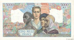 5000 Francs EMPIRE FRANÇAIS FRANCE  1942 F.47.01 pr.TTB