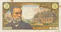 5 Francs PASTEUR FRANCE  1966 F.61.03 pr.TB