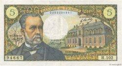 5 Francs PASTEUR FRANCE  1969 F.61.10 TTB