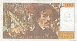 100 Francs DELACROIX modifié FRANCE  1979 F.69.03 TB