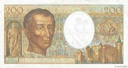 200 Francs MONTESQUIEU FRANCE  1984 F.70.04 TTB