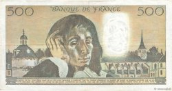 500 Francs PASCAL FRANCE  1978 F.71.18 TB+