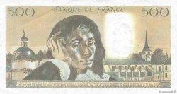 500 Francs PASCAL FRANCE  1984 F.71.31 TTB
