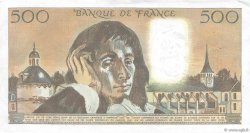 500 Francs PASCAL FRANCE  1986 F.71.34 TTB+