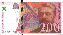 200 Francs EIFFEL FRANCE  1997 F.75.04b SPL