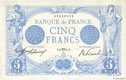 5 Francs BLEU FRANCE  1914 F.02.22 pr.SUP