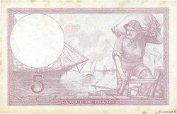 5 Francs VIOLET modifié FRANCE  1939 F.04.05 TTB