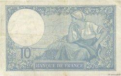 10 Francs MINERVE FRANCE  1926 F.06.10 TB