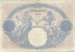 50 Francs BLEU ET ROSE FRANCE  1926 F.14.39 pr.TB