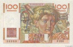 100 Francs JEUNE PAYSAN FRANCE  1947 F.28.15 pr.SPL