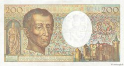 200 Francs MONTESQUIEU FRANCE  1990 F.70.10c TTB