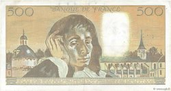 500 Francs PASCAL FRANCE  1991 F.71.46 pr.TTB