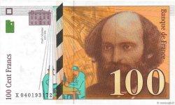 100 Francs CÉZANNE FRANCE  1998 F.74.02 pr.SUP