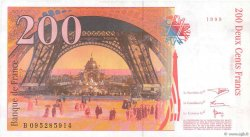 200 Francs EIFFEL FRANCE  1999 F.75.05 TTB+