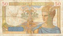 50 Francs CÉRÈS FRANCE  1936 F.17.29 pr.TB