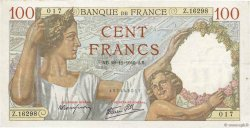 100 Francs SULLY FRANCE  1940 F.26.41 pr.TTB