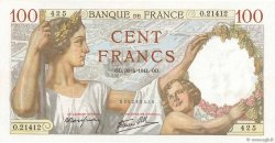 100 Francs SULLY FRANCE  1941 F.26.51 pr.SUP