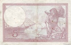 5 Francs VIOLET modifié FRANCE  1939 F.04.04 TB