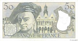50 Francs QUENTIN DE LA TOUR FRANCE  1982 F.67.08 TTB