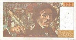 100 Francs DELACROIX FRANCE  1978 F.68.02 pr.TTB