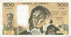 500 Francs PASCAL FRANCE  1979 F.71.19 pr.TTB