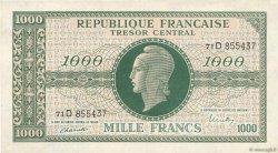 1000 Francs MARIANNE FRANCE  1945 VF.13.01 SUP+