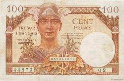 100 Francs TRÉSOR FRANÇAIS FRANCE  1947 VF.32.01 TB+