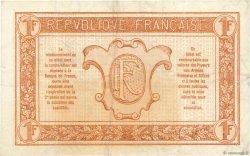 1 Franc TRÉSORERIE AUX ARMÉES FRANCE  1917 VF.03.01 TTB