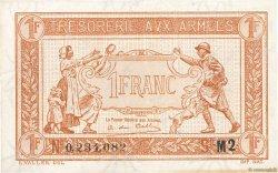 1 Franc TRÉSORERIE AUX ARMÉES FRANCE  1917 VF.03.14 SUP
