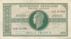1000 Francs MARIANNE FRANCE  1945 VF.13.02 TB