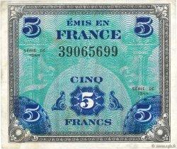 5 Francs DRAPEAU FRANCE  1944 VF.17.01 pr.TTB