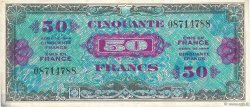 50 Francs DRAPEAU FRANCE  1944 VF.19.01 TTB