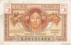 5 Francs TRÉSOR FRANÇAIS FRANCE  1947 VF.29.01 pr.TTB