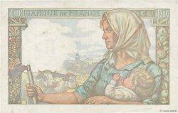 10 Francs MINEUR FRANCE  1944 F.08.11 pr.TTB