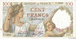 100 Francs SULLY FRANCE  1940 F.26.33 pr.TTB