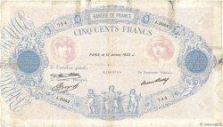 500 Francs BLEU ET ROSE FRANCE  1933 F.30.36 B+