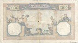 1000 Francs CÉRÈS ET MERCURE FRANCE  1932 F.37.07 B+