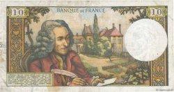 10 Francs VOLTAIRE FRANCE  1965 F.62.13 TTB