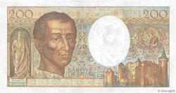 200 Francs MONTESQUIEU FRANCE  1986 F.70.06 TTB+