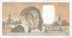 500 Francs PASCAL FRANCE  1990 F.71.44 TTB