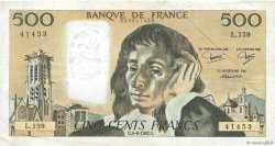 500 Francs PASCAL FRANCE  1982 F.71.27 pr.TTB