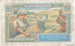 10 Francs TRÉSOR FRANÇAIS FRANCE  1947 VF.30.01 TB+