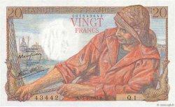 20 Francs PÊCHEUR FRANCE  1942 F.13.01 NEUF