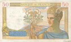 50 Francs CÉRÈS modifié FRANCE  1940 F.18.37 TB+