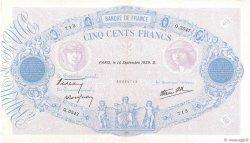 500 Francs BLEU ET ROSE modifié FRANCE  1939 F.31.39 TTB+
